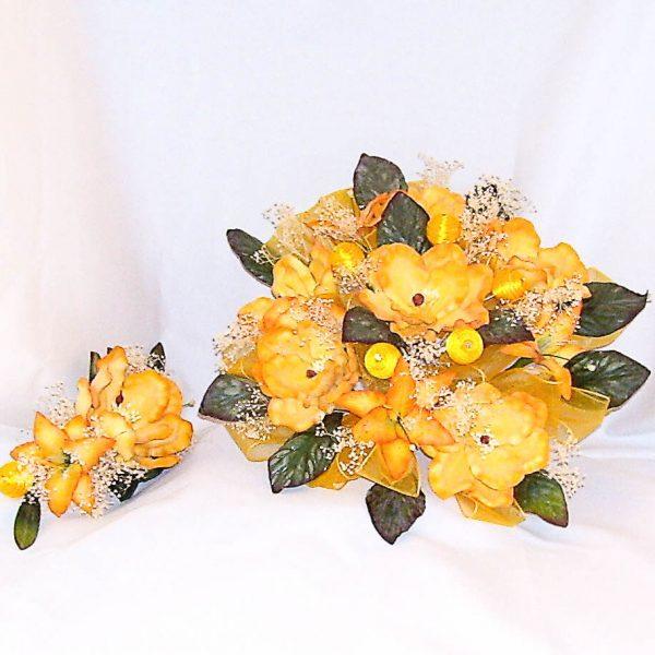 Flower Bouquet with Headpiece