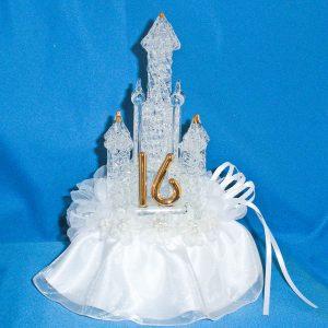 Sweet 16 Fairytale Caketop