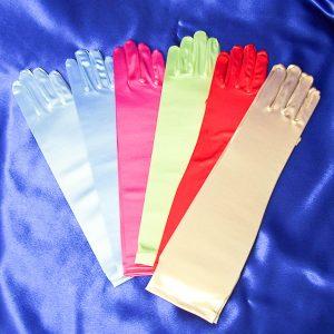 Satin Gloves