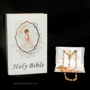 Bible and Rosary Set