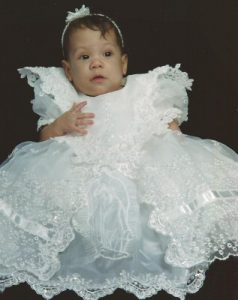 Baby in Baptism Gown