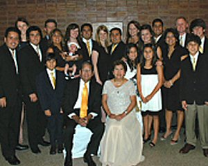 Family at an Anniversary