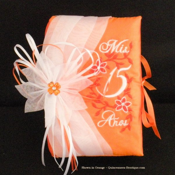 Quince Bible in Orange