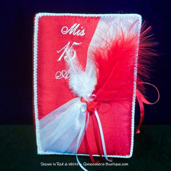 Elegance Bible in Red and White