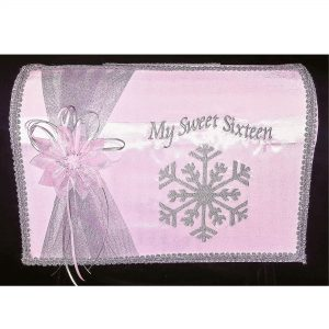 Snowflake Magic Reception Card Holder