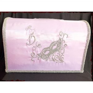 Masquerade Reception Card Holder