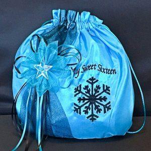 Money Bag-Snowflake Magic