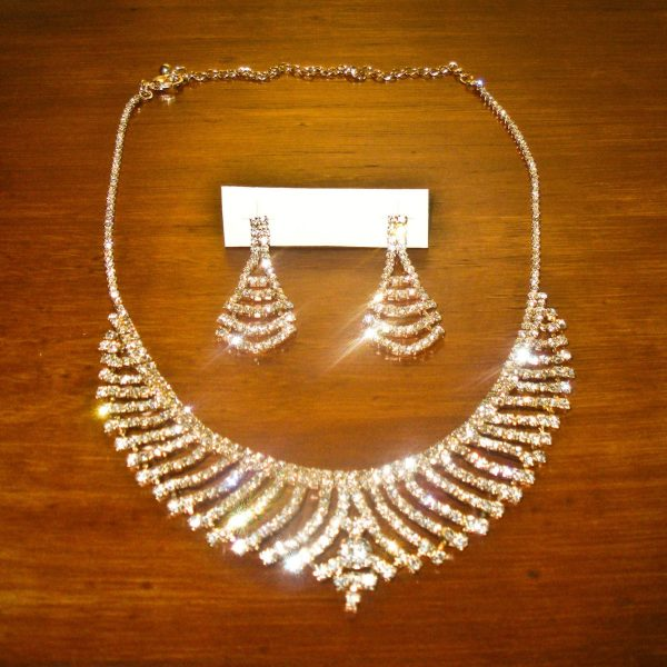 Sparkle Jewelry Set in Gold