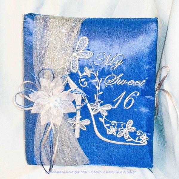 Cinderella Slipper Guest Book