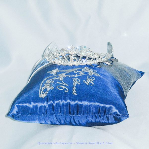 Cinderella Slipper Tiara Pillow