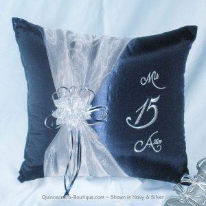 Celebration Kneeling Pillow in Navy
