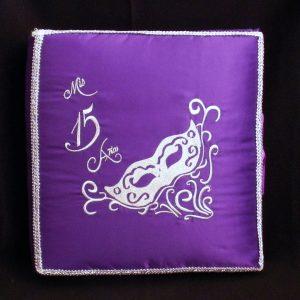 Masquerade Photo Album in Purple