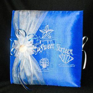 Under-The-Sea Photo Album in Royal Bluein Royal Blue