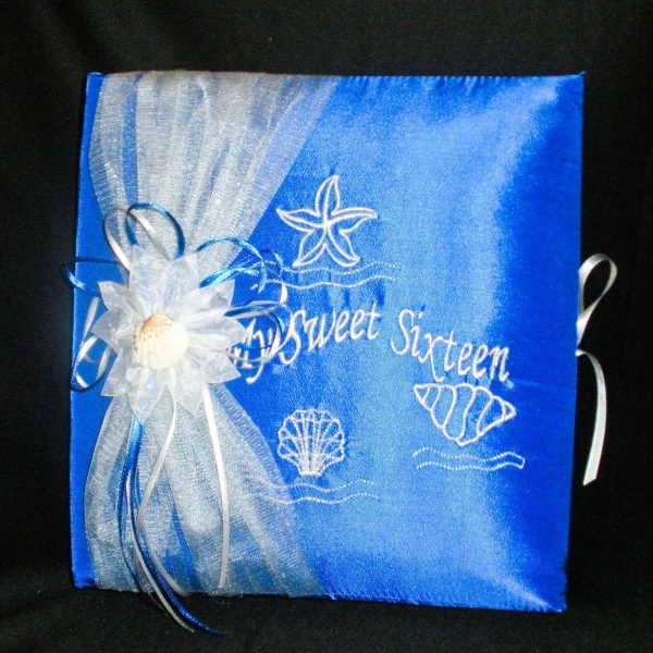 Under-The-Sea Photo Album in Royal Bluein Royal Blue