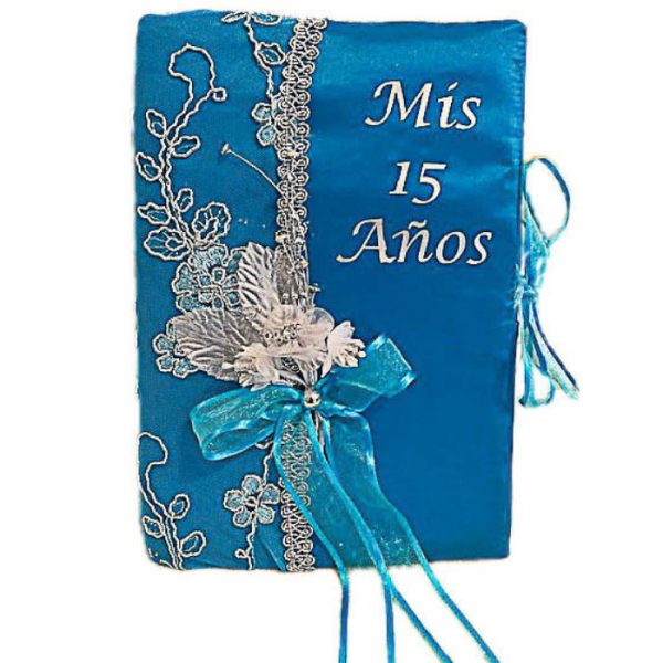 Fiesta Guest Book in Turquoise
