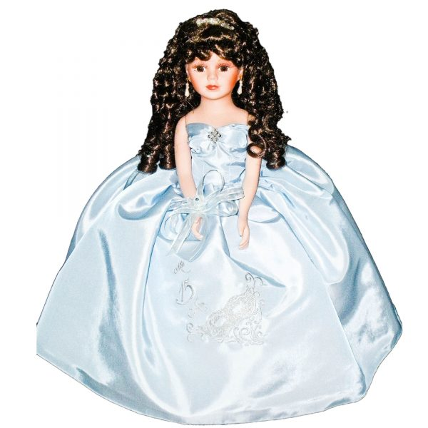 Masquerade Doll in Baby Blue