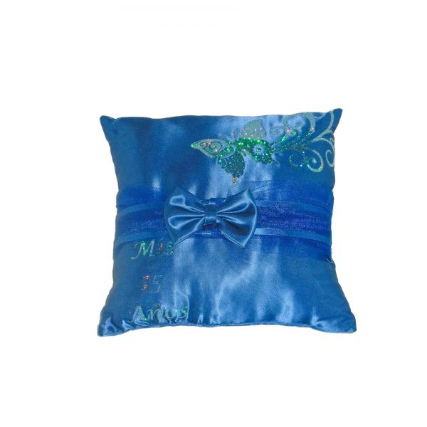 Butterfly Sparkle Pillow for the Tiara in Royal Blue