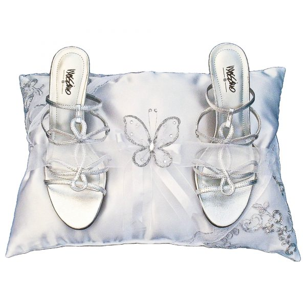 Butterfly Ceremony Pillow for the Shoes