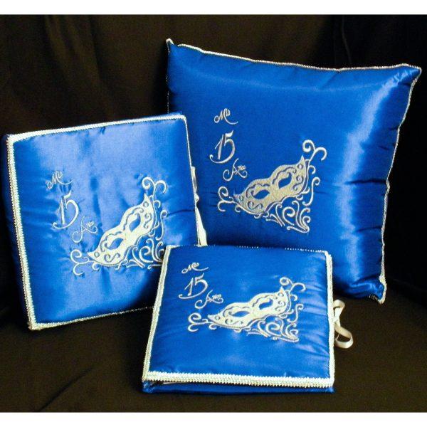 Masquerade Set in Royal Blue