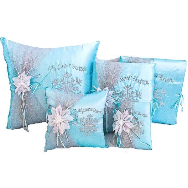 Snowflake Magic Set in Aqua Blue