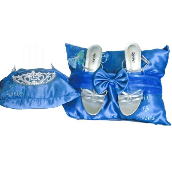 Butterfly Sparkle Ceremony Pillow Set