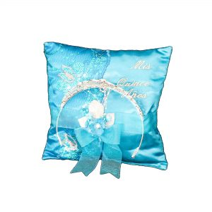 Fiesta Ceremony Pillow for the Tiara in Turquoise