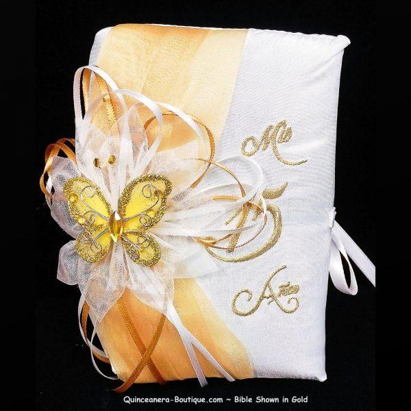 Festividades Bible in Gold