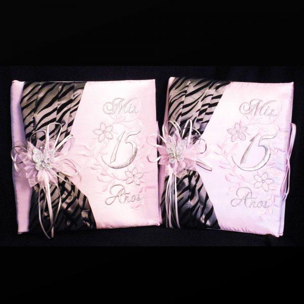 Zebra Book Set in Pink