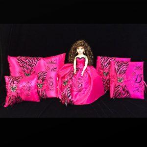 Zebra Complete Collection in Fuchsia