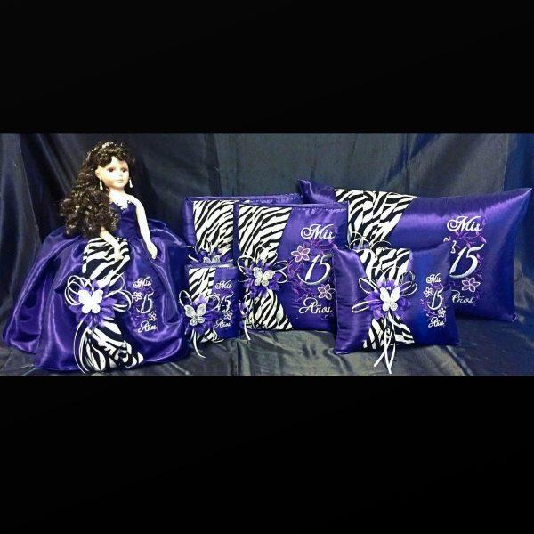 Zebra Complete Collection in Purple
