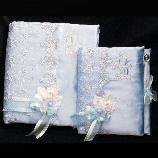 Fiesta Book Set in Baby Blue