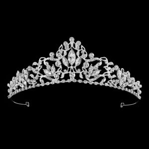 Teardrop Tiara in Silver