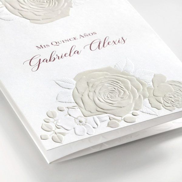 Roses Invitation - Close-up View
