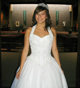 Quinceanera Dress in White