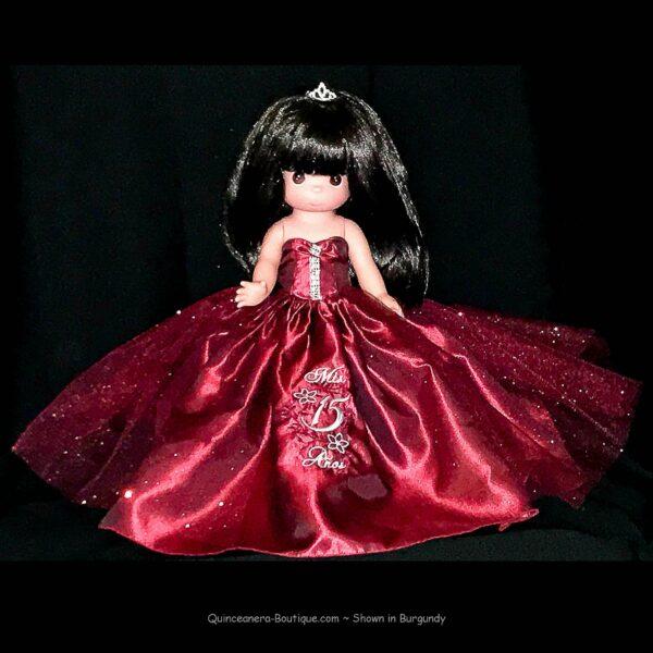 Precious Moments Last Doll II - Burgundy