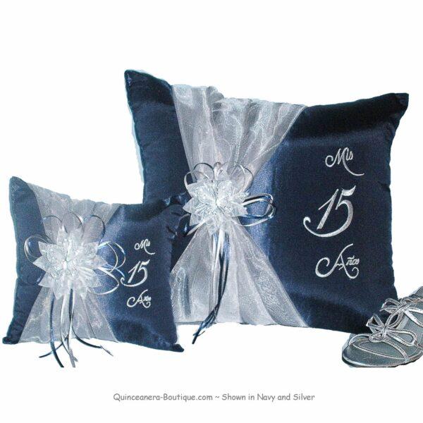 Celebration Pillow Set in Navy