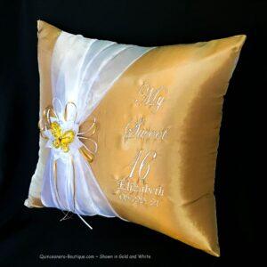 Celebration Kneeling Pillow in Gold